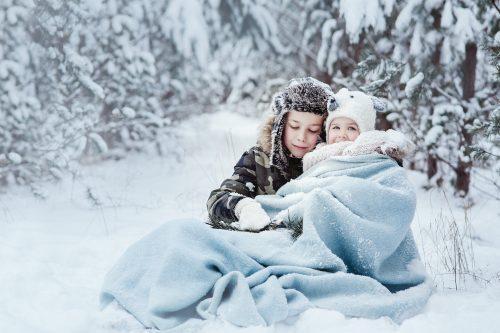 Žiemiška šeimos fotosesija